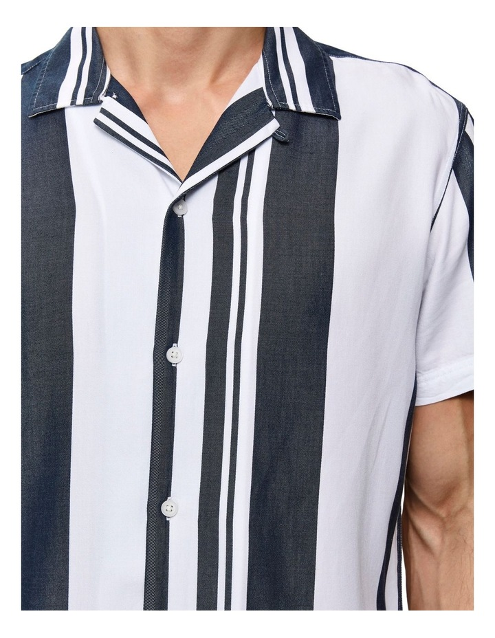 Regkevin Short Sleeve Striped Shirt image 3