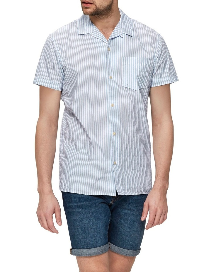 Slimstein Short Sleeve Striped Shirt image 5