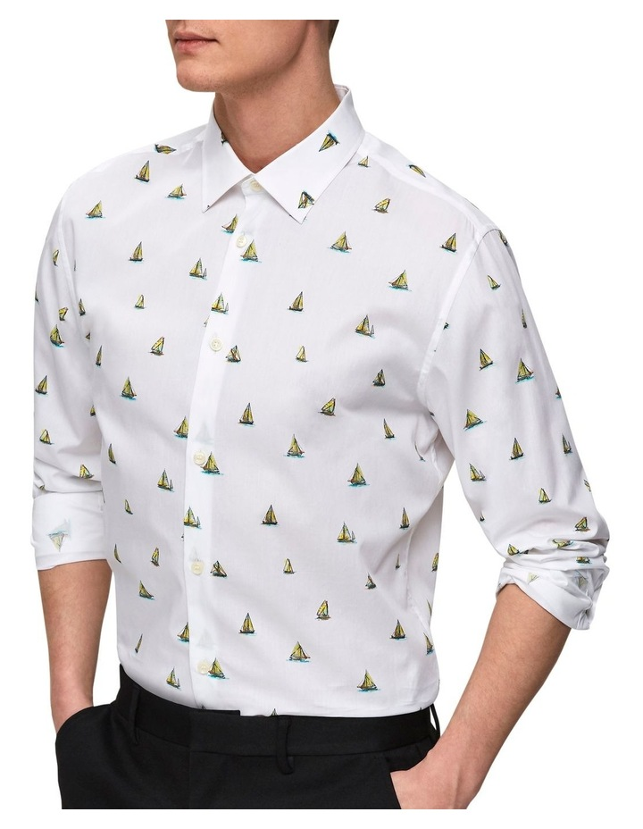 Slimpen-Tropical All Over Print Long Sleeve Shirt image 1