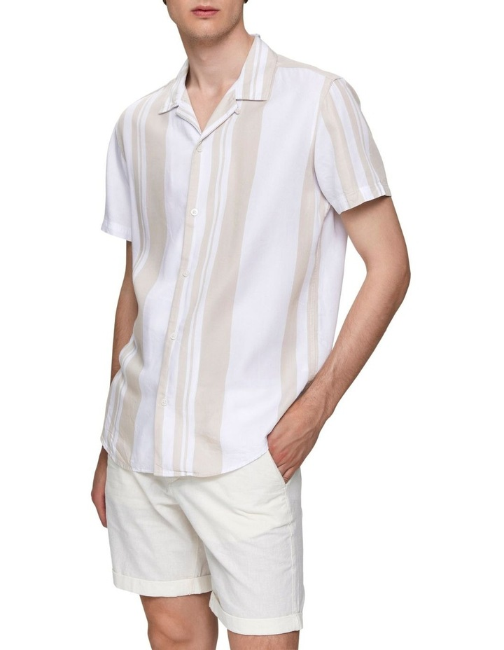 Kevin Striped Short Sleeve Shirt image 5