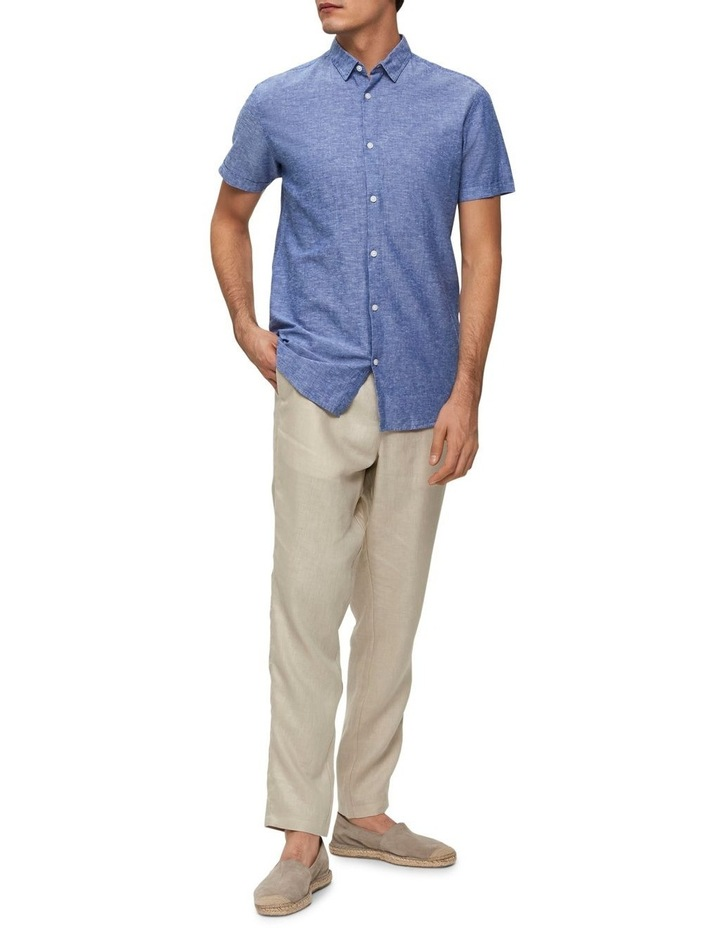 Slim Linen Shirt image 3