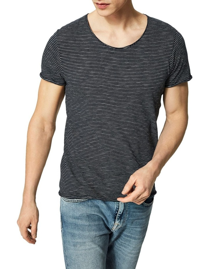 Newmerce Stripe O-Neck Tee image 1