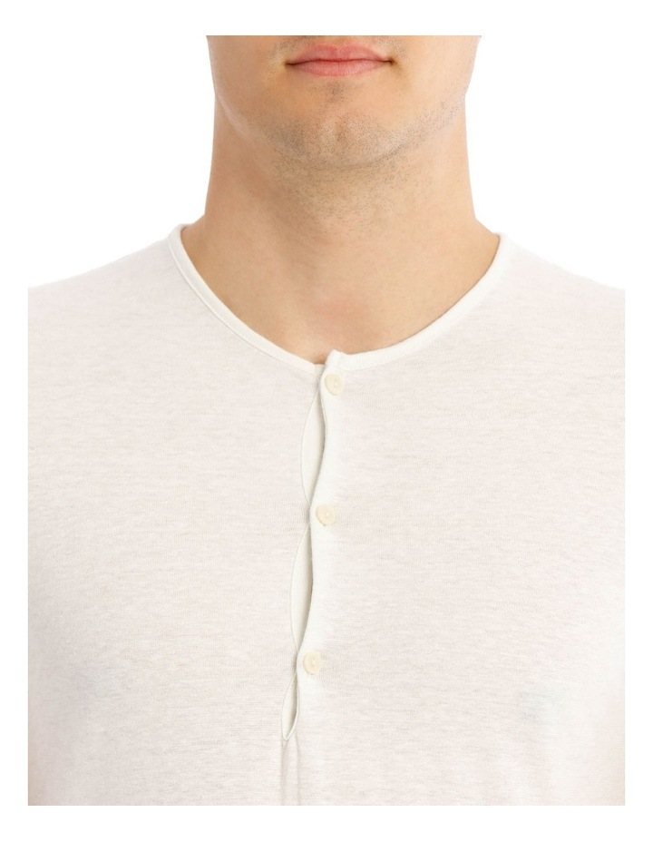 Travis Short Sleeve Split Neck Tee image 4