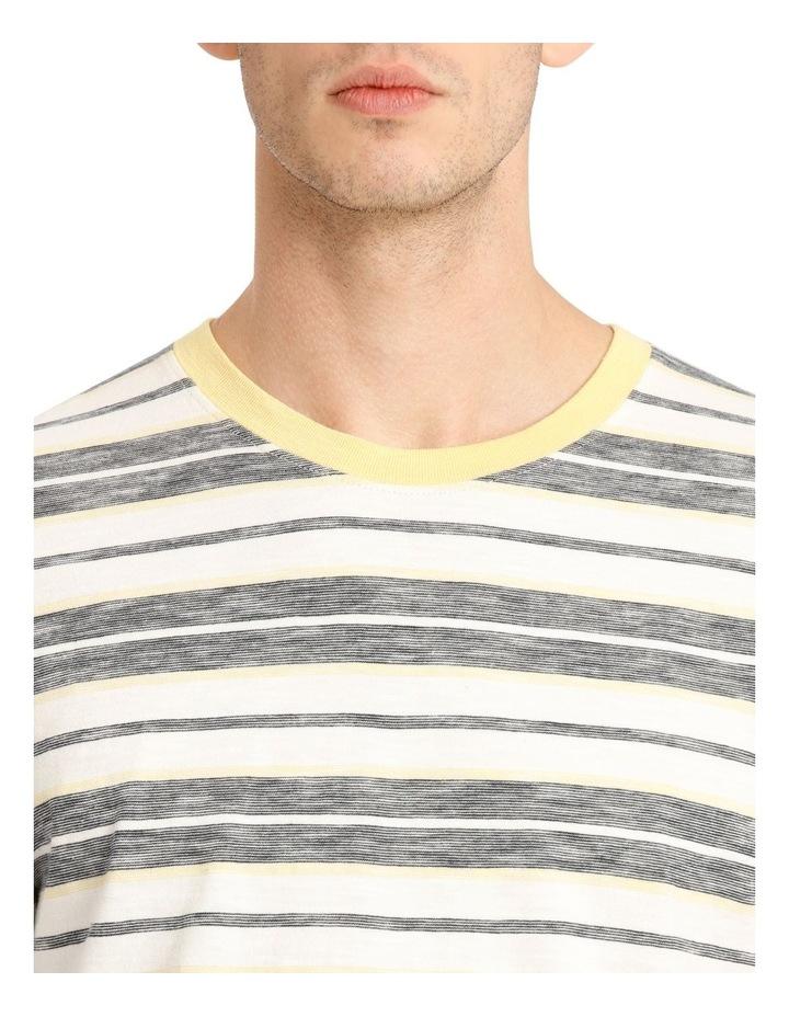 Kasper Stripe Short Sleeve O-Neck Tee image 4