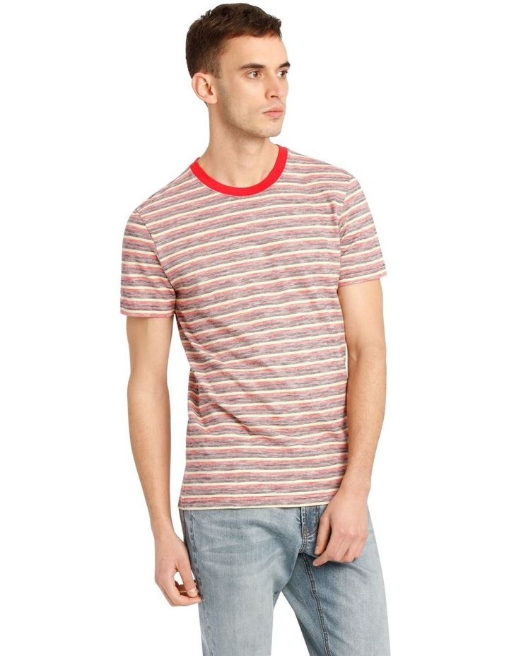 Kasper Stripe Short Sleeve O-Neck image 2