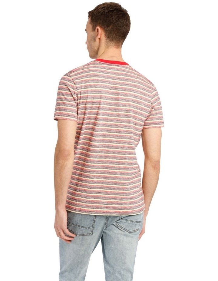 Kasper Stripe Short Sleeve O-Neck image 3