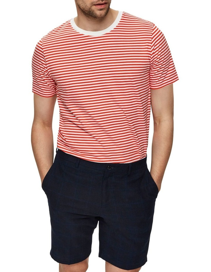 The Perfect Stripe Short Sleeve O-Neck Tee image 1
