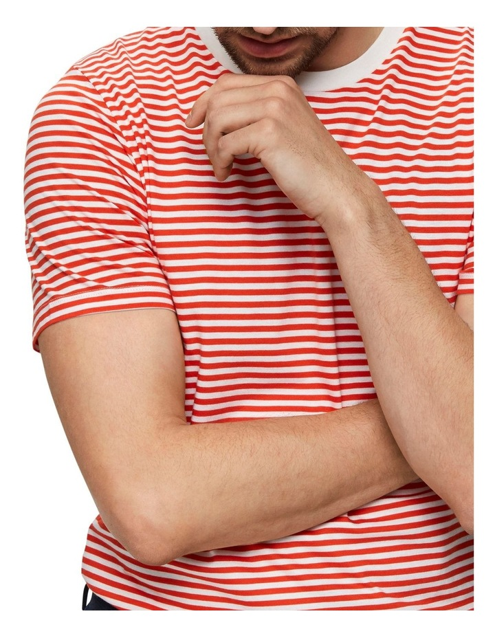 The Perfect Stripe Short Sleeve O-Neck Tee image 4