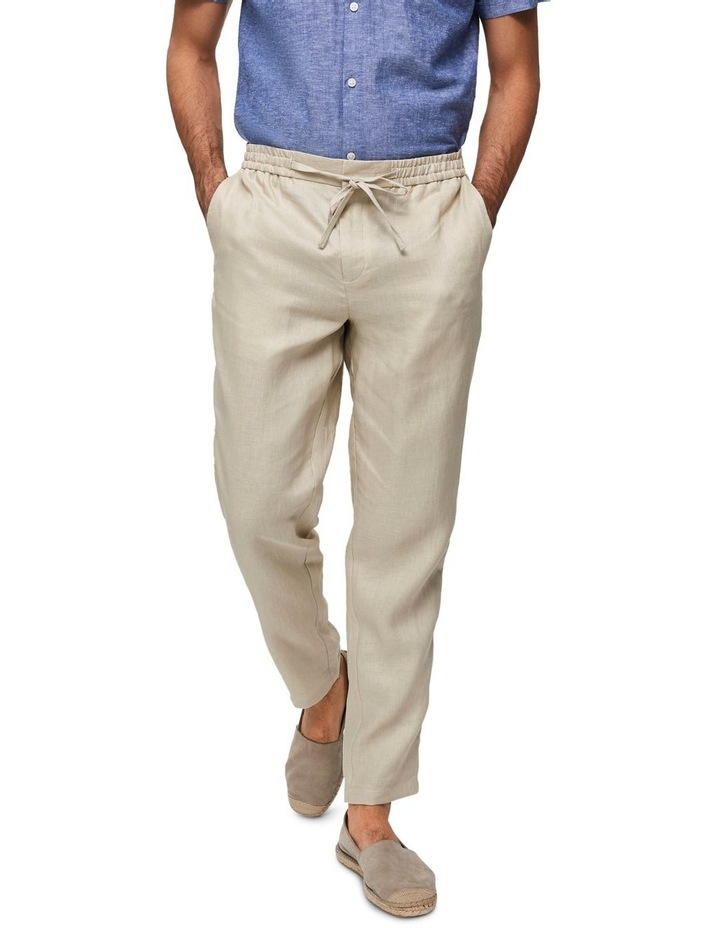 Tapered-Linnen Pants image 1
