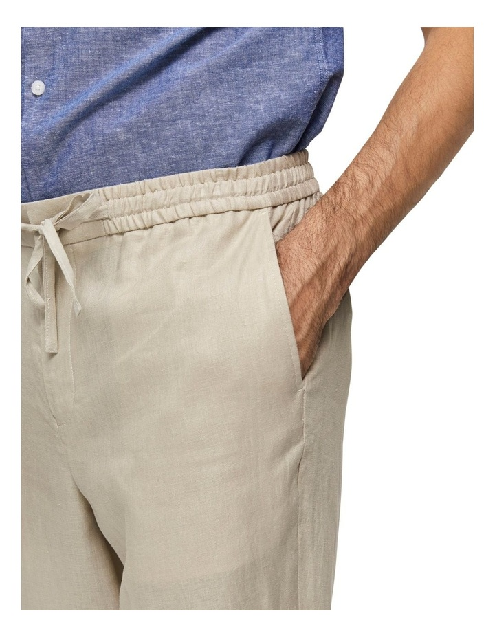 Tapered-Linnen Pants image 4