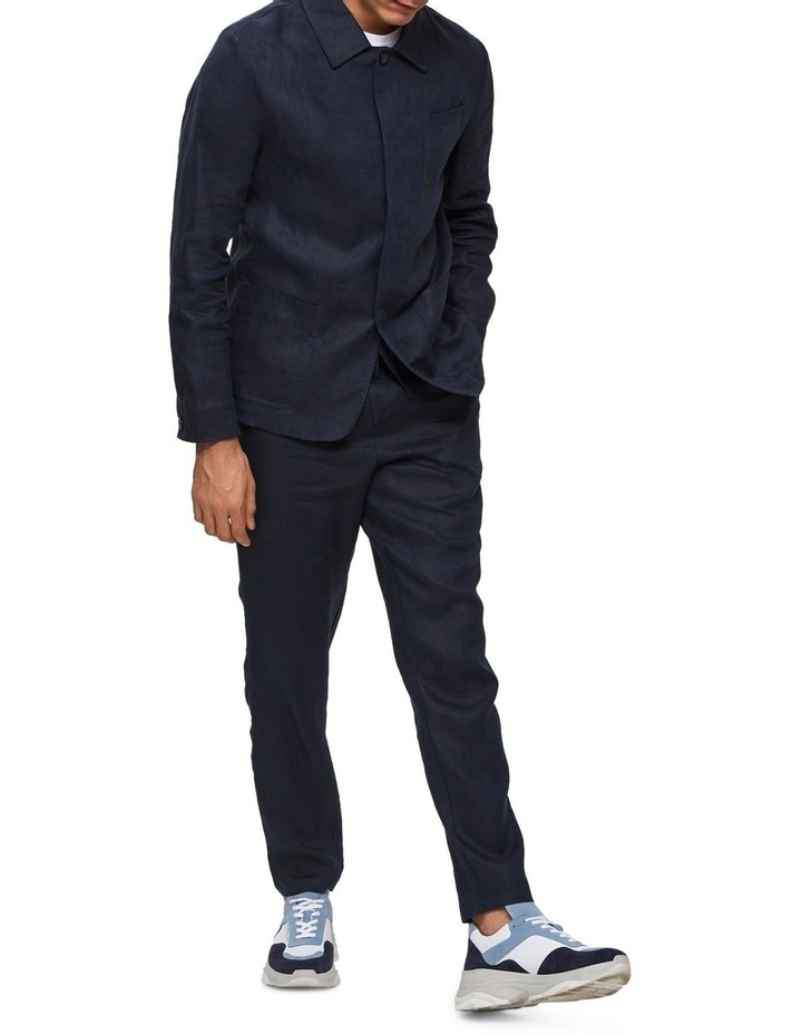 Tapered-Linen Pants image 4