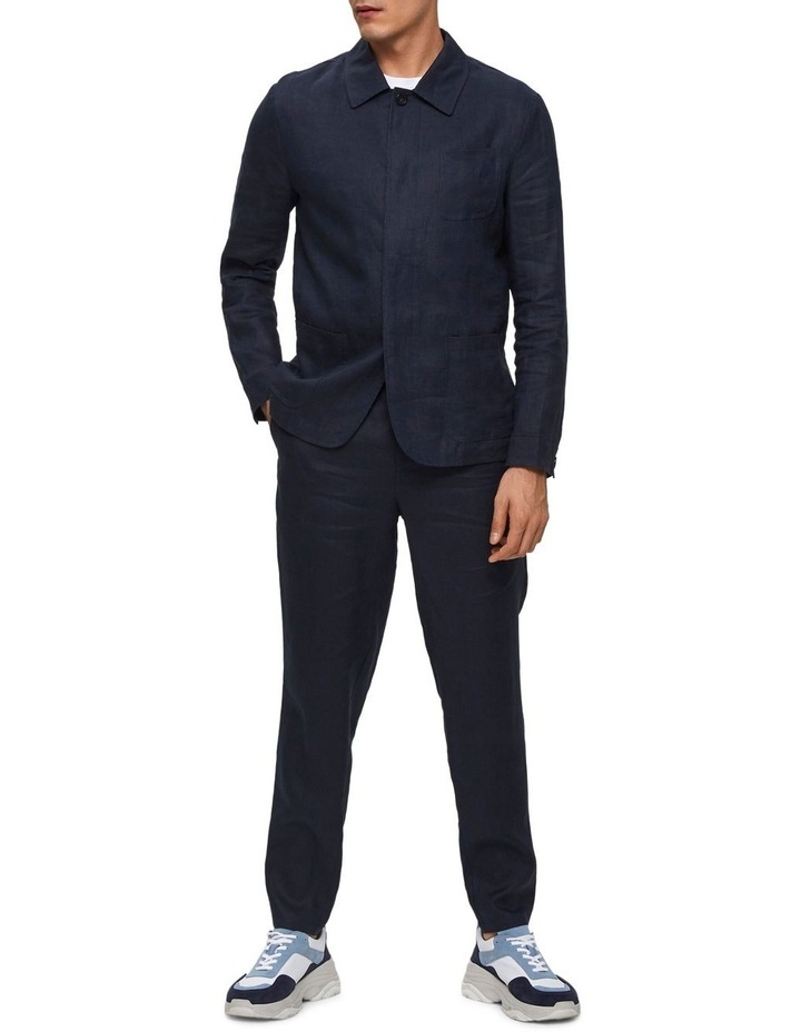 Tapered-Linen Pants image 5