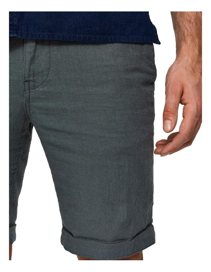 Straight-Paris Linen Shorts image 4