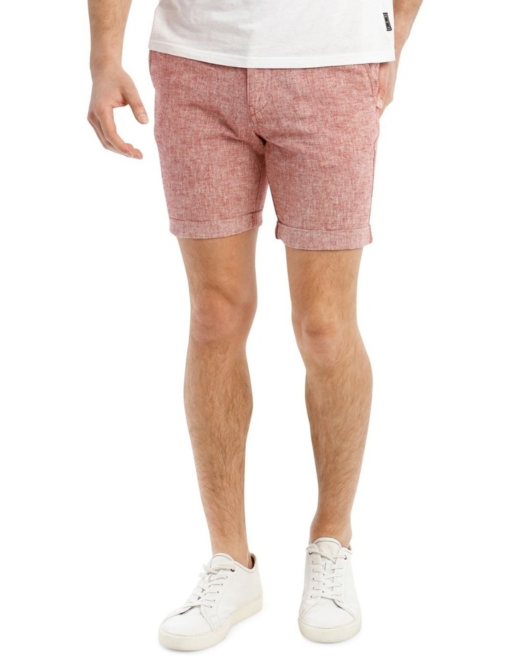 Straight-Paris Linen Shorts image 1