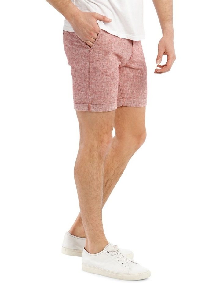 Straight-Paris Linen Shorts image 2