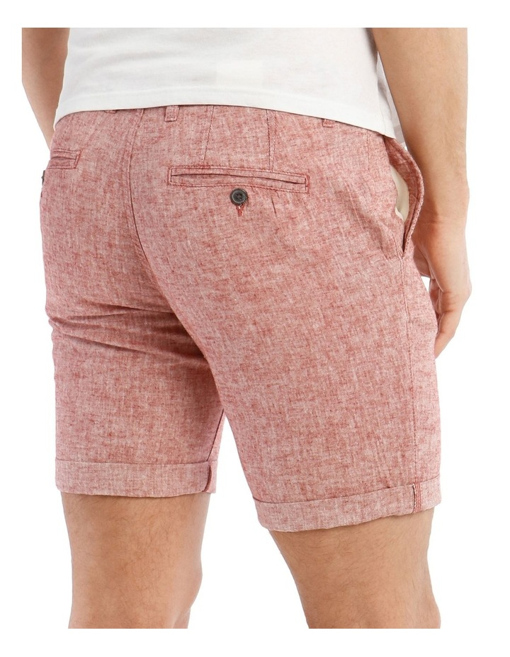 Straight-Paris Linen Shorts image 4