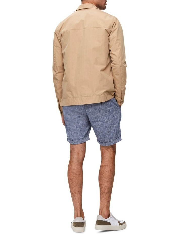 Straight-Paris Linen Shorts image 2