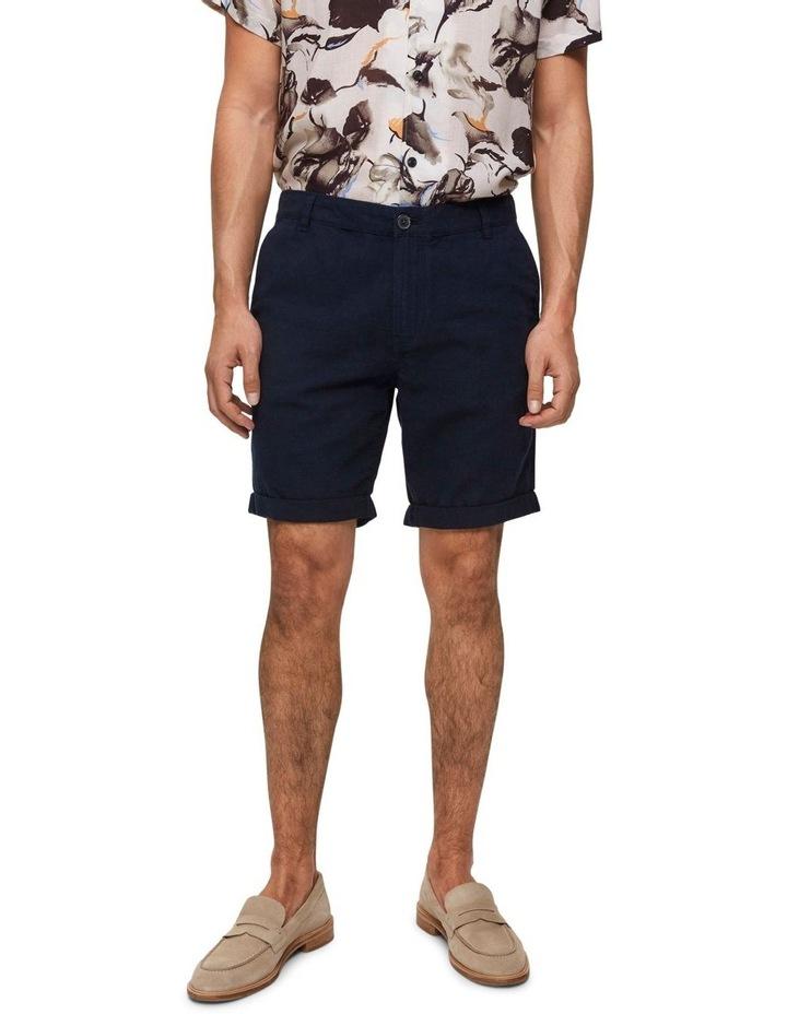 Straight-Paris Linen Shorts image 1