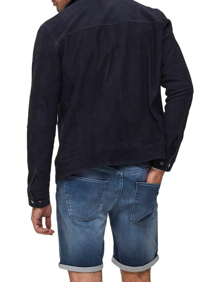 Lucas 6122 Dark Blue Denim Shorts image 2