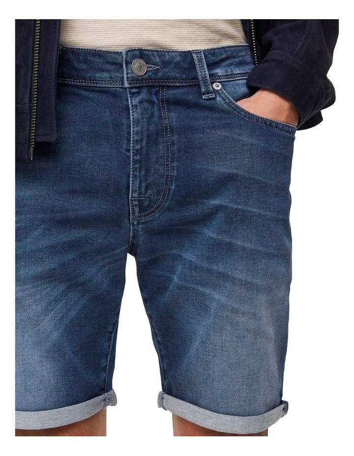 Lucas 6122 Dark Blue Denim Shorts image 3