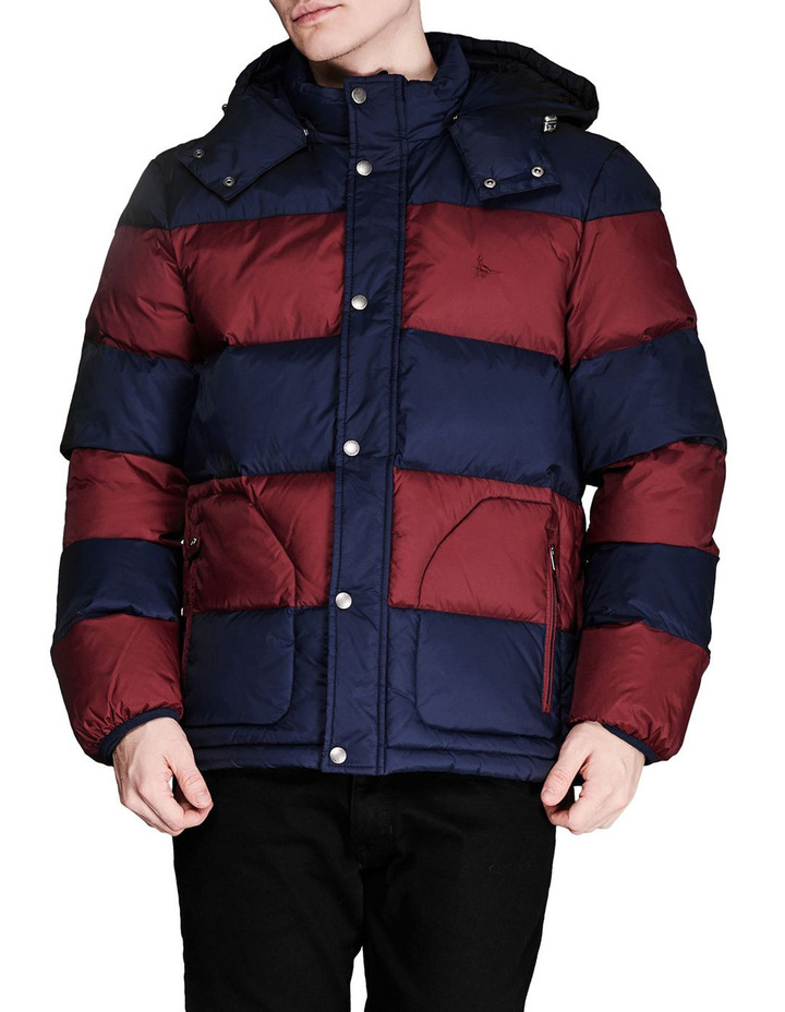 Moxley Colour Block Puffer Jacket image 1