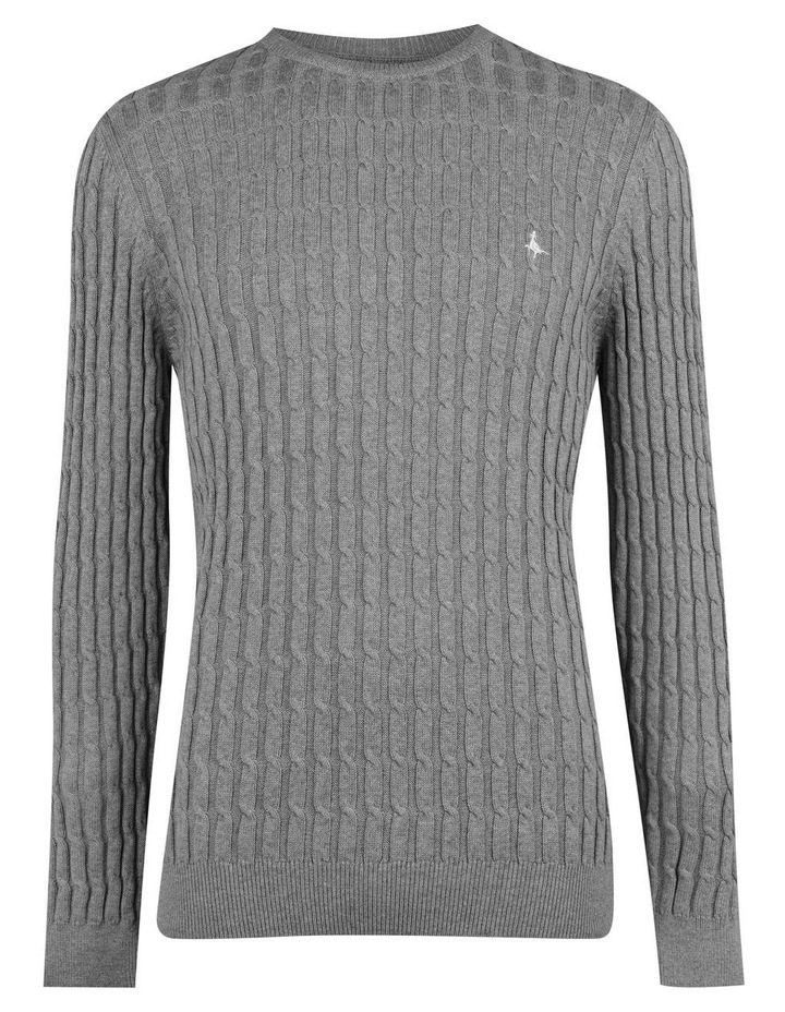 Marlow Cable Crew Neck Jumper image 2