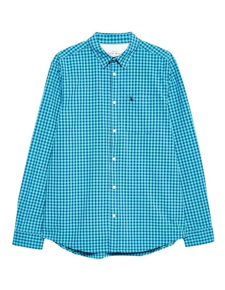 Ruxton Classic Poplin Gingham Long Sleeve Shirt image 5