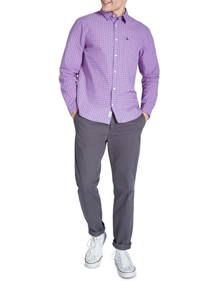 Ruxton Classic Poplin Gingham Long Sleeve Shirt image 1