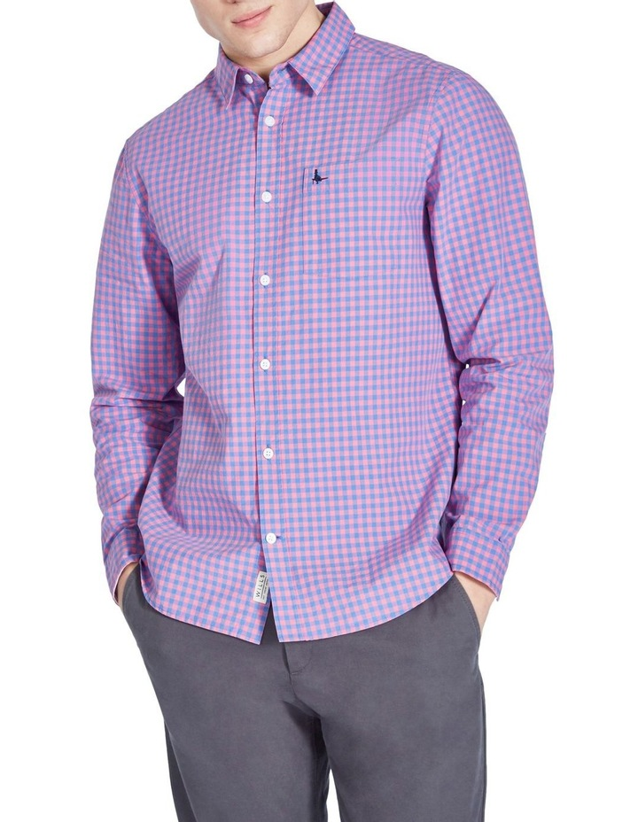 Ruxton Classic Poplin Gingham Long Sleeve Shirt image 3