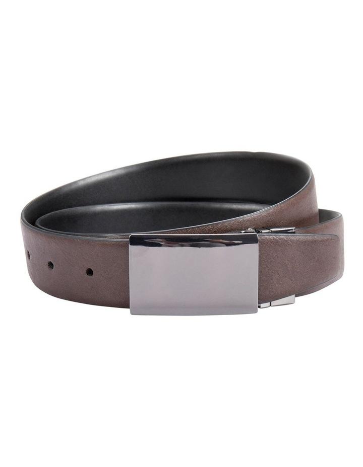 Reversible Plate Buckle Belt image 2