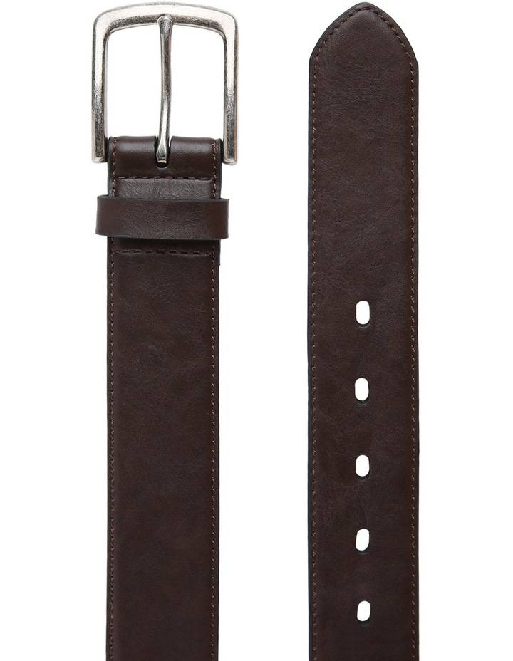 Casual 38mm Pin Buckle Dark Brown Belt image 2