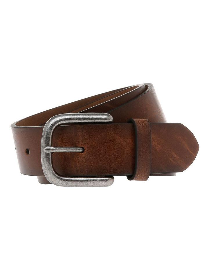 Casual 38mm Pin Buckle Tan Belt image 1