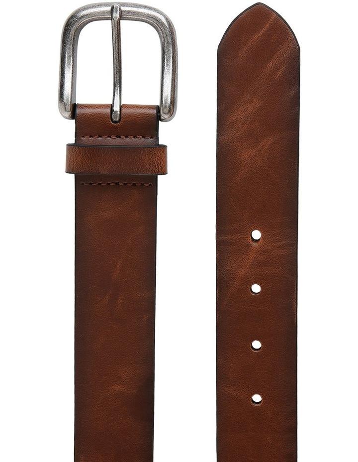 Casual 38mm Pin Buckle Tan Belt image 2