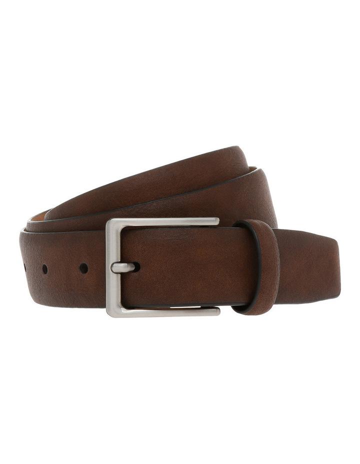 32mm Pin Buckle Cognac Belt image 1