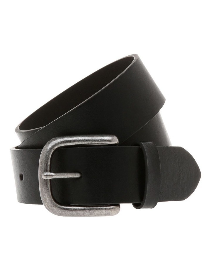 Reserve Casual 38Mm Pin Buckle Black Belt image 1
