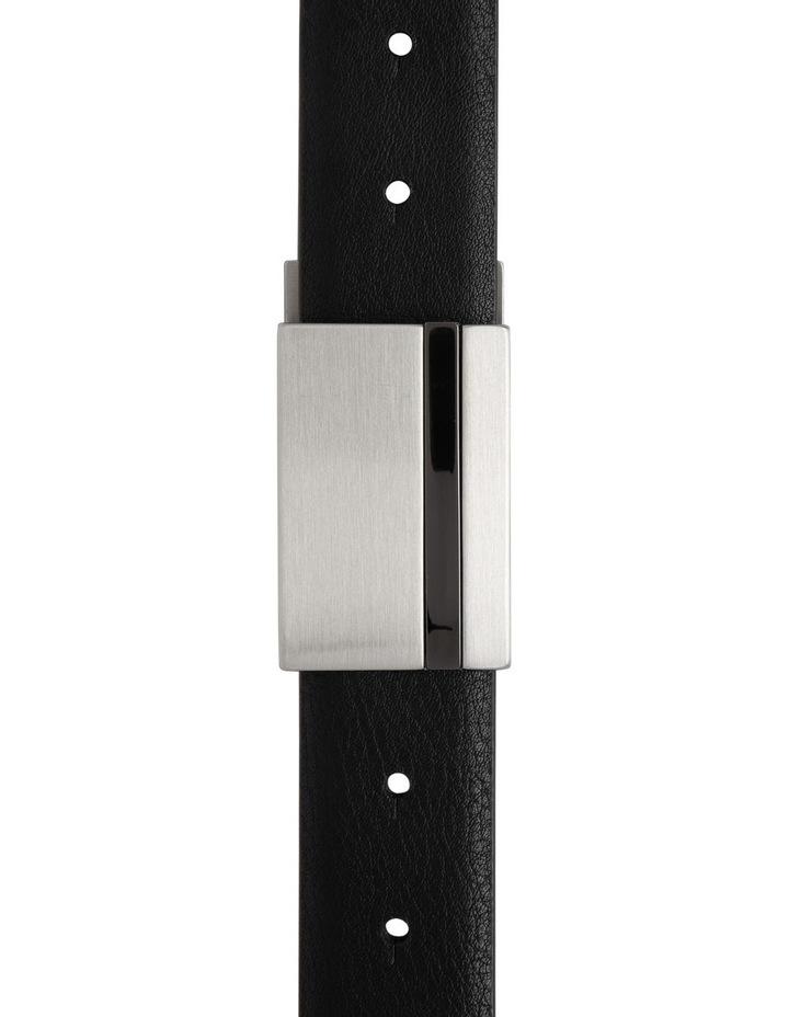 Plate Buckle Reversible Belt image 1