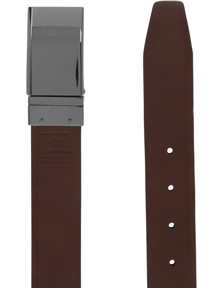 Plate Buckle Reversible Belt image 3
