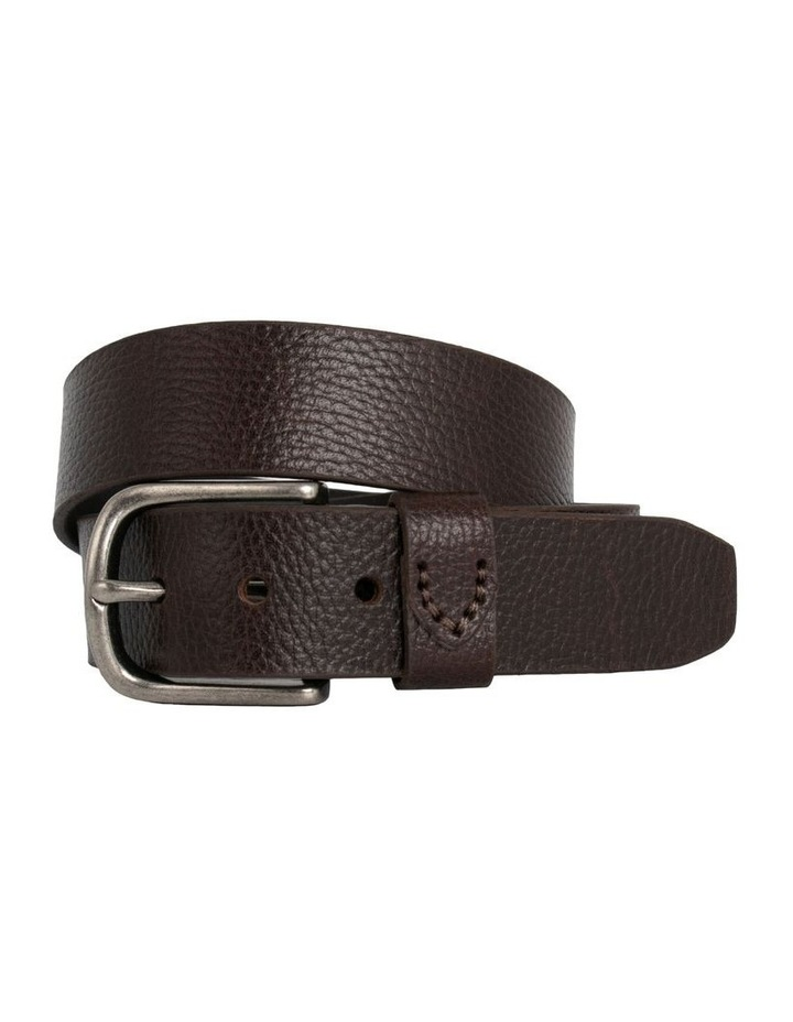 Maddox Chocolate Leather Oslo Jean Belt image 1