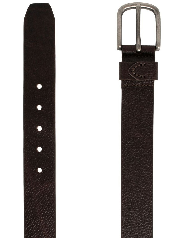 Maddox Chocolate Leather Oslo Jean Belt image 2
