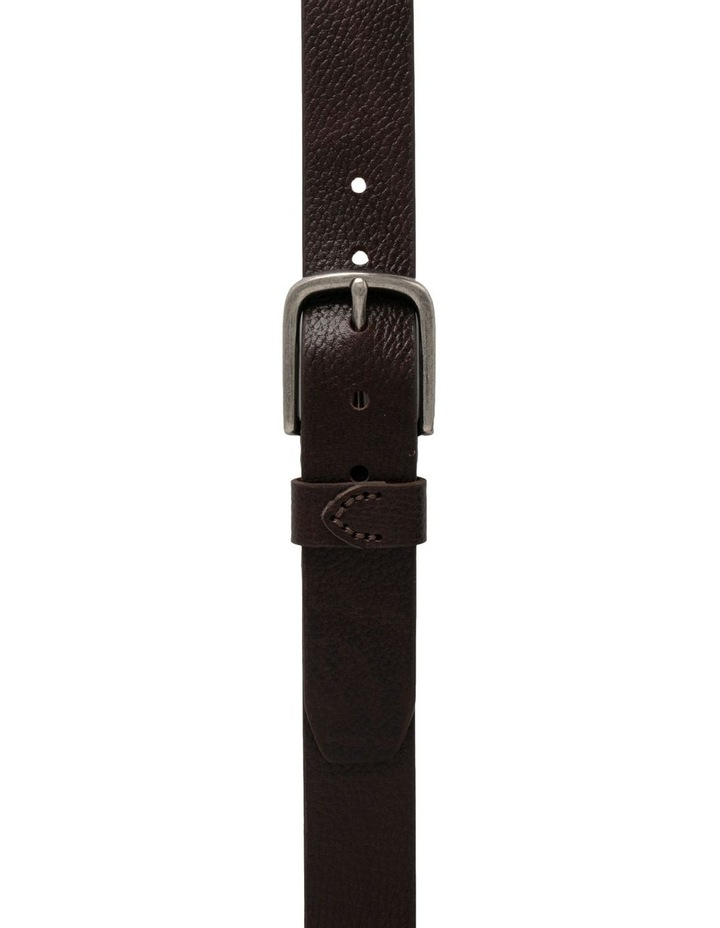 Maddox Chocolate Leather Oslo Jean Belt image 3