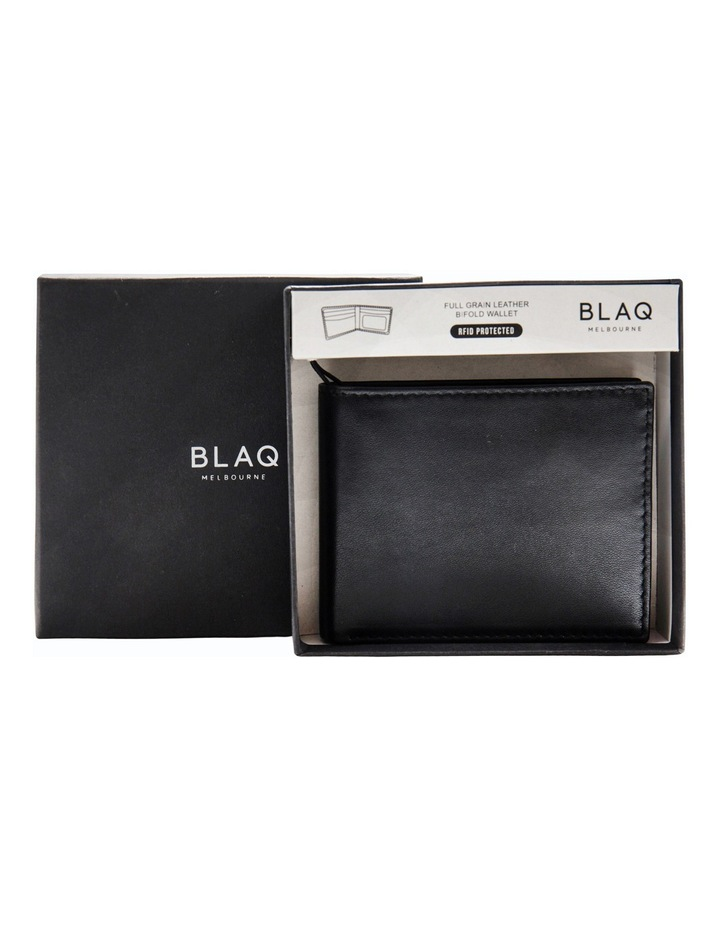 Slimline Billfold Wallet Black image 1