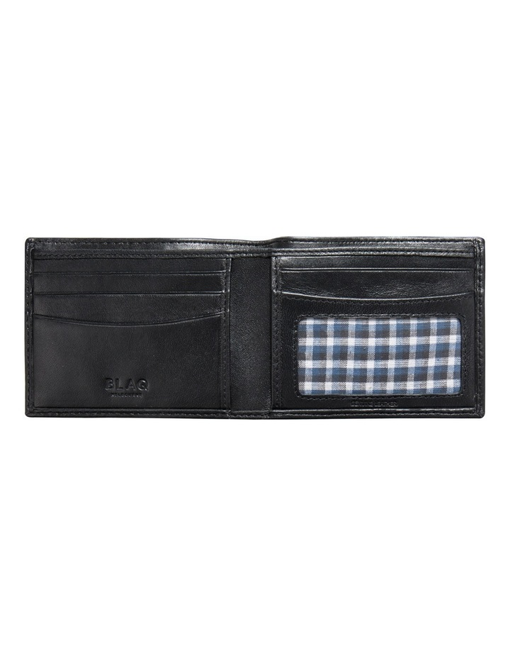 Slimline Billfold Wallet Black image 2