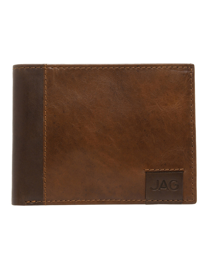 Bifold With Passcase Tan Wallet image 1