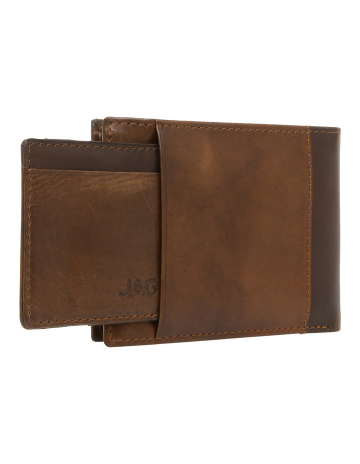Bifold With Passcase Tan Wallet image 3