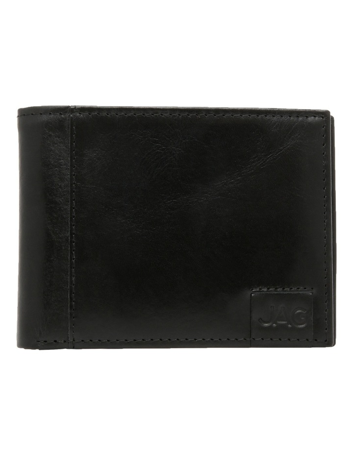Bifold With Passcase Black Wallet image 1