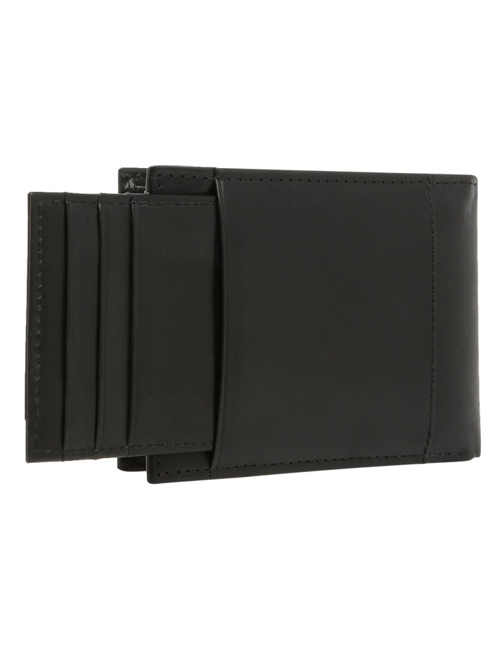 Bifold With Passcase Black Wallet image 3