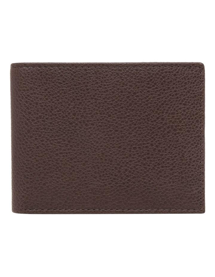 Rfid Bifold Brown Wallet image 1