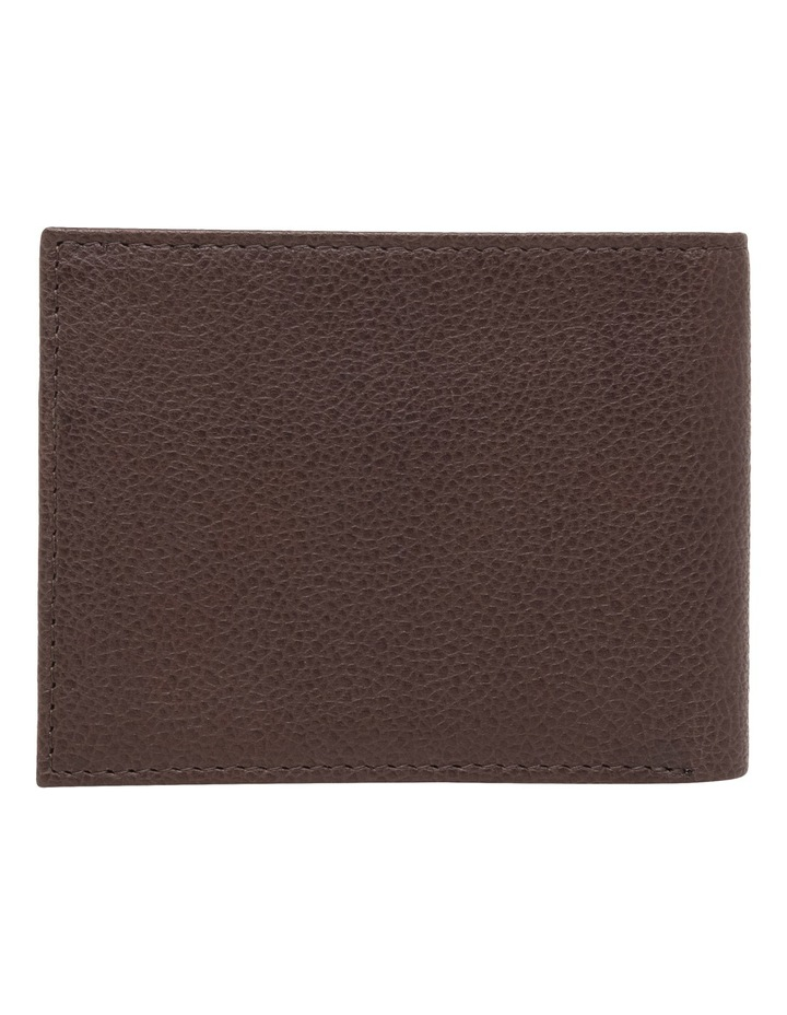 Rfid Bifold Brown Wallet image 2