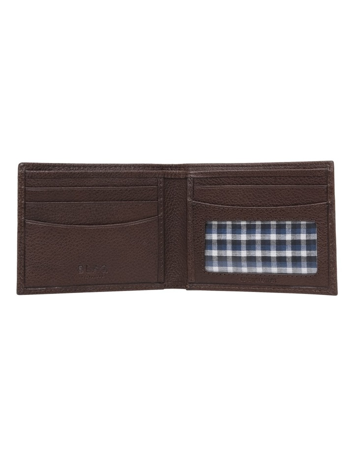 Rfid Bifold Brown Wallet image 3