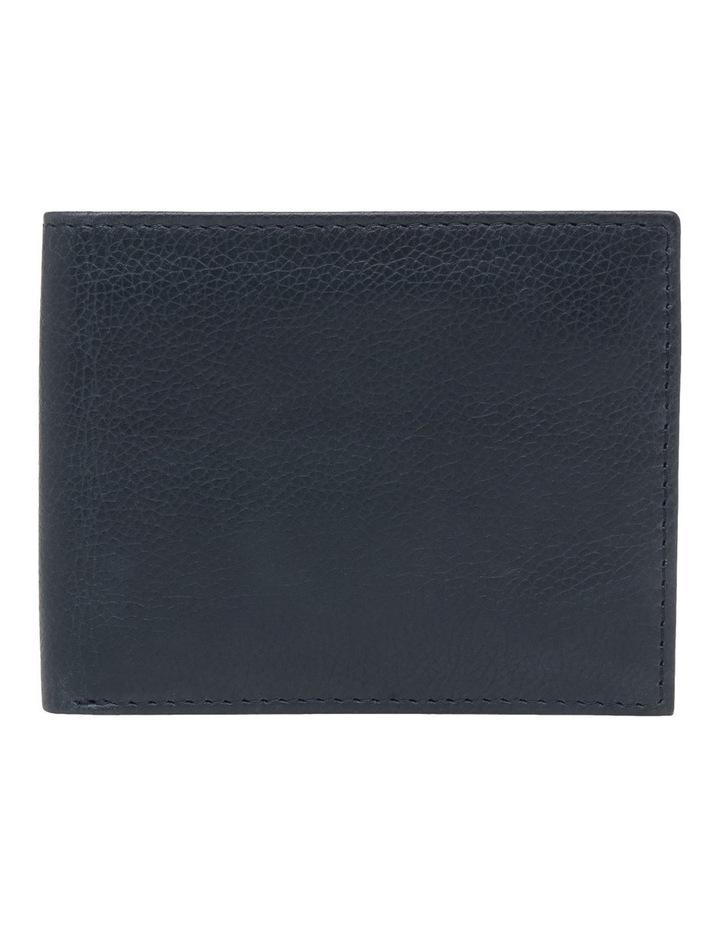 Rfid Bifold W/ Passcase Navy Wallet image 1